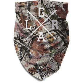 Loose Riders Tube Scarf, foliage camo